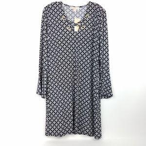 MICHAEL KORS Women's Shift Dress Grommet NWT S M L